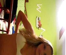 Girllfriend is stripping for me on cam
