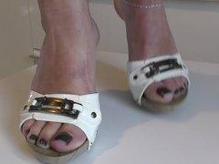 Feet in my new shoe 1