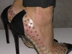 Feet in my new shoe 3