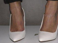 Feet in my new shoe 2