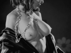 sexy boobs gogo girl topless table dance vintage 1969