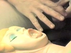 Doll Blowjob and Cum on Face 2 - Video 141