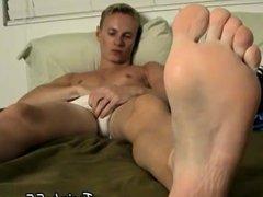 Man shoves foot up ass free gay porn first