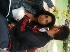 Indian couple at Park