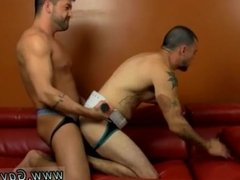 Gay blond hair sex movie and latex gloves