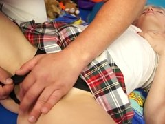 Teenyplayground - Big ass young blonde get fucked by teacher