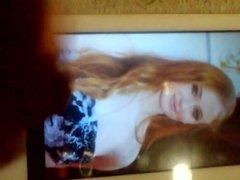 Cum tribute for Sophie Turner 3