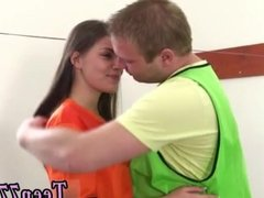 Big huge tits teen on webcam Dutch football