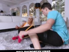 Workout Step Mom Fucked by Son