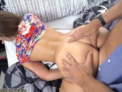 Ebony friend's daughter threesome Liza and