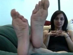 Foot worship 2017 - Nia's gorgeous soles again