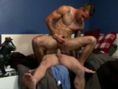 ExtraBigDicks Str8 Guy Takes Thick Cock