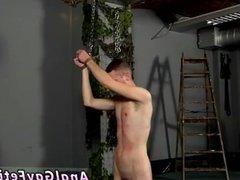Fat guy twink gay porn Slave Boy Fed Hard