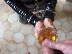 Slave Mom used as pissoir