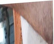 Safada brasileira chupando pau de velho 1