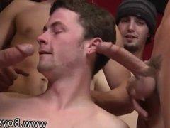 Gay blowjobs cumshot drips Gorgeous guys