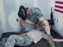 Free gay army porn xxx Good Anal Training