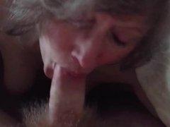 Face fuck and cum