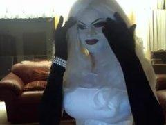 Girly blonde doll