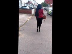 British Bengali Candid Ass ( Tried My Best To Record)
