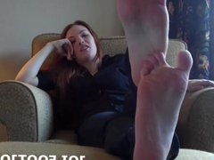 I want to make your footjob fantasy come true