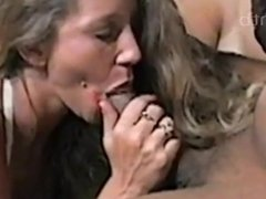Two hot blondes swinging