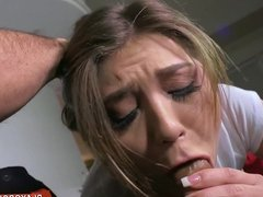 Drilling Teen Pussy On The Couch