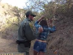 Amateur begs for creampie Mexican border