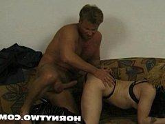 Wet blond fuckhole inserted big dildo preparing a horny fuck