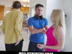 FamilyStrokes - Seduced BY My Hot Gold-Digging Step-Mom