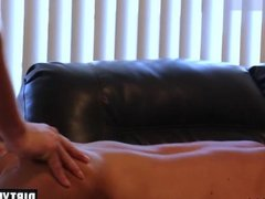 Muscle son hardcore anal sex with cumshot