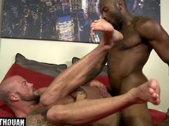 Big dick boy hardcore anal sex and cumshot