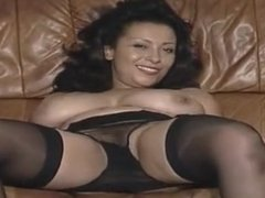 Danica rides dildo
