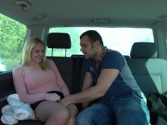 Takevan - Perfect MILF with big tits play with two guys