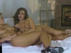 Lucy Love and Stephanie ending their day with sex