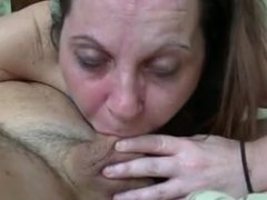 Choking my cock down!!