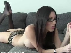 I got a hot new pair of pantyhose to wear for you JOI