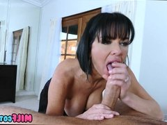Cougar gets off on Teen Cock