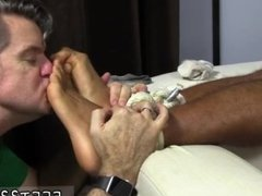 Licking dads feet gay story Mikey Tied Up &