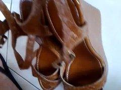 Cum my sisters high heels 8