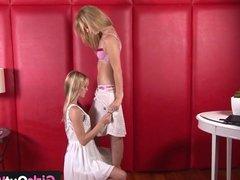 Lesbian cuties love cunnilingus and rimming