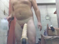 Joey D machine anal gaping wide butthole