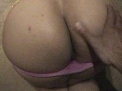 pink panty tease