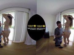 VR3000 - Naughty Neighbors - Starring Mila Marx - 180° HD VR Porn