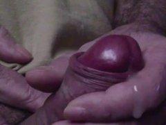 Close up masturbation and cumshot
