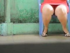 Ricas piernas de una gorda