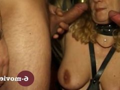 6-movies com - Fetish GangBang in Latex and Leather -