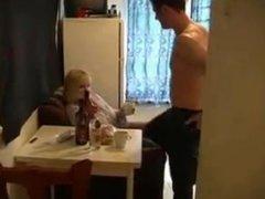 Russian mom Marta with boy