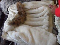 Masturbated on a coat cuddly kitties