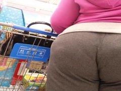 Big ass bending over